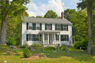 Bradford Single Family Home For Sale: 2180 Route 114