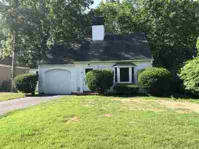 Nashua Single Family Home For Sale: 11 Ayer Street
