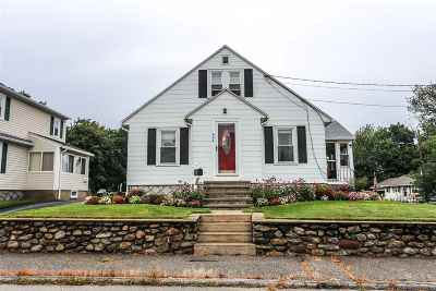 Manchester Single Family Home For Sale: 864 Cilley Road
