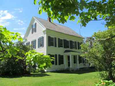 Wallingford Single Family Home For Sale: 280 Homer Stone Road