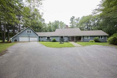 Exeter Single Family Home For Sale: 19 Hampton Falls Road