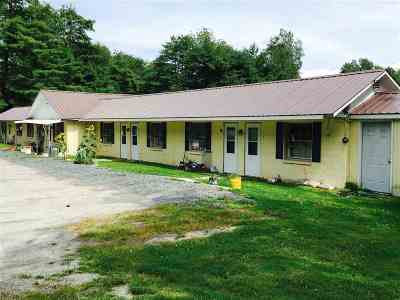 Fairlee Multi Family Home For Sale: 1675 Us Route 5 South