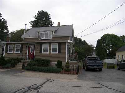 Hooksett Single Family Home Active Under Contract: 18 Rosedale Street