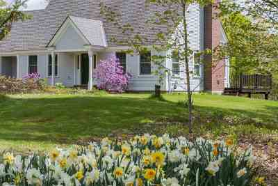 Hinesburg Single Family Home Active Under Contract: 578 Weed Road