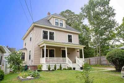 Portsmouth Single Family Home Active Under Contract: 110 Woodbury Avenue