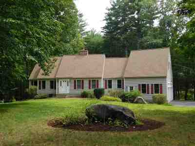 Merrimack Single Family Home Active Under Contract: 4 Dahl Rd