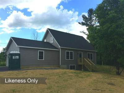 Grand Isle Single Family Home For Sale: Lot 2-2 Reynolds Road