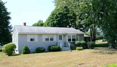 Portsmouth NH Single Family Home Active Under Contract: $275,000