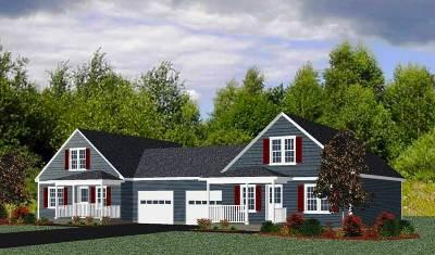 Goffstown Single Family Home For Sale: Unit # 2 Millers Landing (Cedar Way)