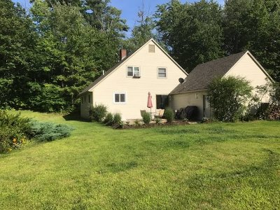 Bradford Single Family Home Active Under Contract: 103 Johnson Hill Road