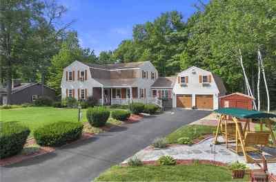 Hooksett Single Family Home For Sale: 45 Whitehall Terrace