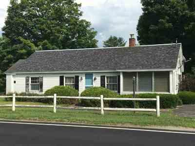 Bradford Single Family Home For Sale: 538 Upper Plain