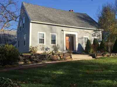 Canterbury Single Family Home For Sale: 12 Old Tilton Road