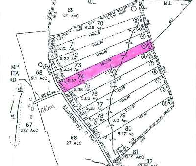 Alexandria Residential Lots & Land For Sale: McMurphy Road