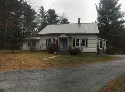 Holderness Single Family Home For Sale: 316 Nh Route 175 Highway