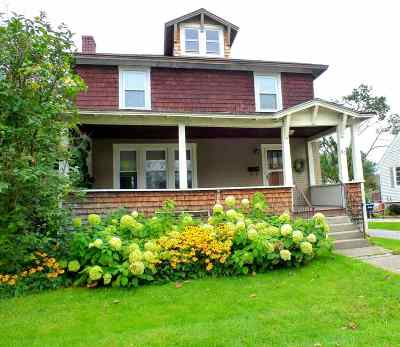 Rutland City VT Single Family Home For Sale: $162,000