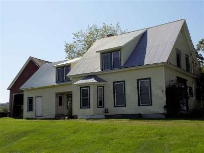 Sheffield Single Family Home For Sale: 83 Chesley Hill