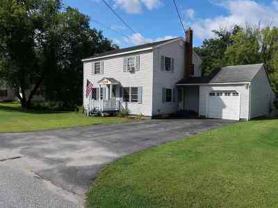 Swanton Single Family Home For Sale: 36.5 Greenwich Street