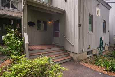 Stratham Condo/Townhouse Active Under Contract: 57 Brookside
