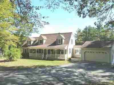 Epsom Single Family Home For Sale: 95 Martin Hill Rd