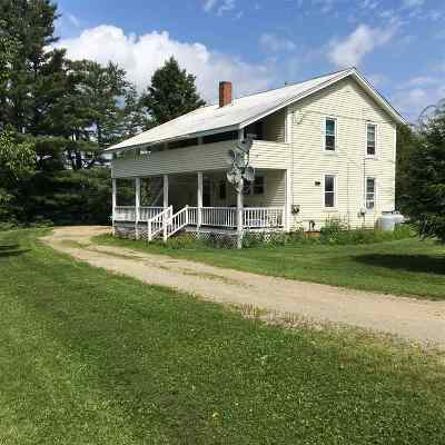 Hyde Park VT Multi Family Home For Sale: $185,000