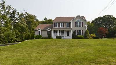 Hooksett Single Family Home Active Under Contract: 6 Greystone Terrace