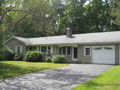 Exeter Single Family Home Active Under Contract: 18 Crestview Drive