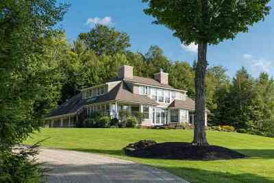 Stowe, Chelsea, Randolph, Barre City, Barre Town, Berlin, Cabot, Calais, Duxbury, East Montpelier, Fayston, Marshfield, Middlesex, Montpelier, Moretown, Northfield, Plainfield, Roxbury, Waitsfield, Warren, Waterbury, Woodbury, Worcester Single Family Home For Sale: 201 Lower Judson Lane