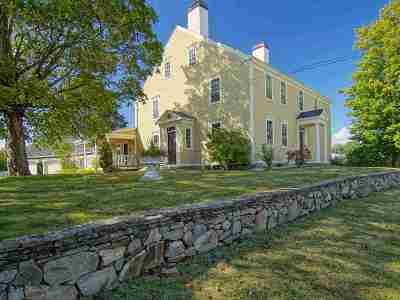 North Hampton Single Family Home Active Under Contract: 112 Post Road Road
