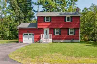 Merrimack Single Family Home For Sale: 2 Hartwood Drive