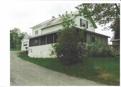 Berkshire, Montgomery, Richford Single Family Home For Sale: 55 Liberty Street