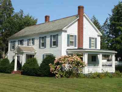 Poultney Single Family Home For Sale: 60 College Street