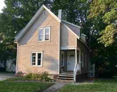 Plymouth Single Family Home For Sale: 8 Crawford Street