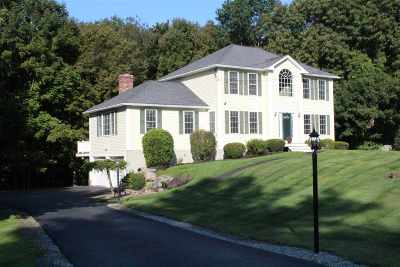 Hooksett Single Family Home Active Under Contract: 1 Quarry Road