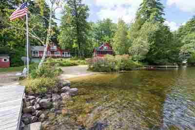 Moultonborough Single Family Home Active Under Contract: 89 Buzzell Cove Road