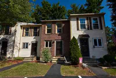 Merrimack Condo/Townhouse Active Under Contract: 58 Shelburne Road