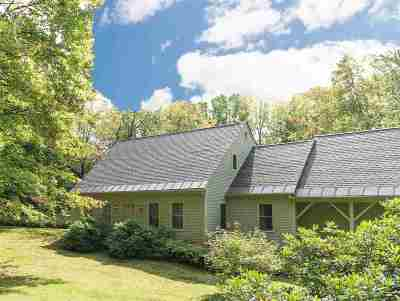 Stowe Single Family Home For Sale: 929 Barnes Hill Road