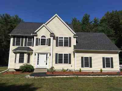 Milford Single Family Home For Sale: 40 Trombly