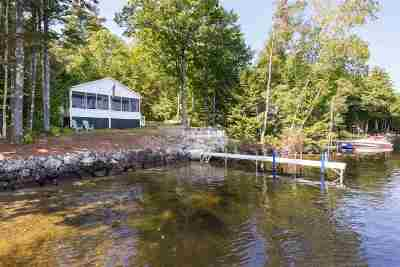 Moultonborough Single Family Home Active Under Contract: 97 Cottage Road