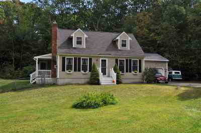 Goffstown Single Family Home Active Under Contract: 24 Clancy Drive
