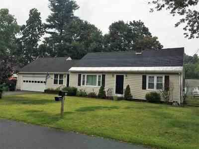 Nashua Single Family Home For Sale: 33 Eastman Street