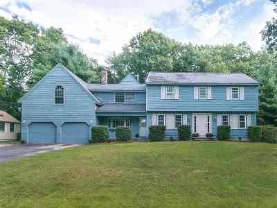 Nashua Single Family Home For Sale: 19 Chapel Hill Drive