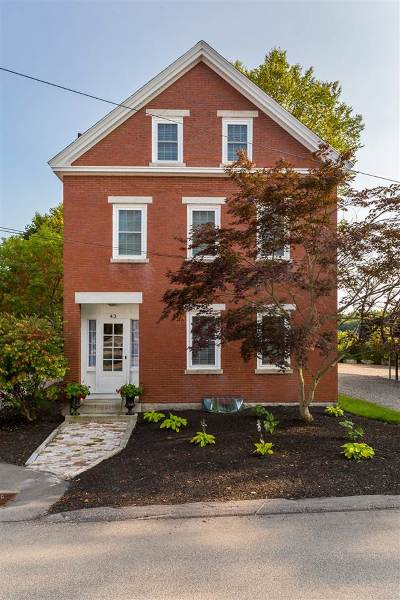 Rollinsford Single Family Home For Sale: 43 South Street