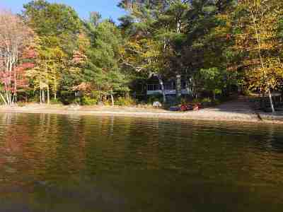 Moultonborough Single Family Home For Sale: 253 Whittier Highway #4