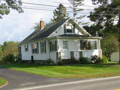 Haverhill Single Family Home For Sale: 2564 Dartmouth College Highway