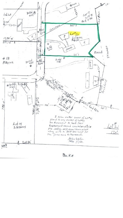 Residential Lots & Land For Sale: Lot #20 Mountain Estate Drive