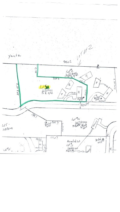 Residential Lots & Land For Sale: Lot #3a Mountain Estates Drive