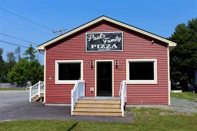 Castleton Commercial For Sale: 886 Route 4a West