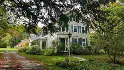 West Rutland Single Family Home For Sale: 696 Boardman Hill Road