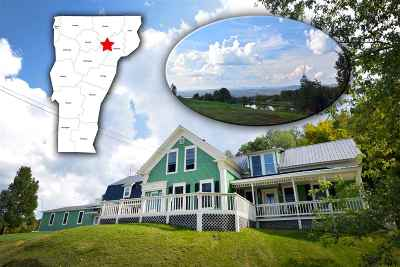 Caledonia County Single Family Home For Sale: 490 Orton Road